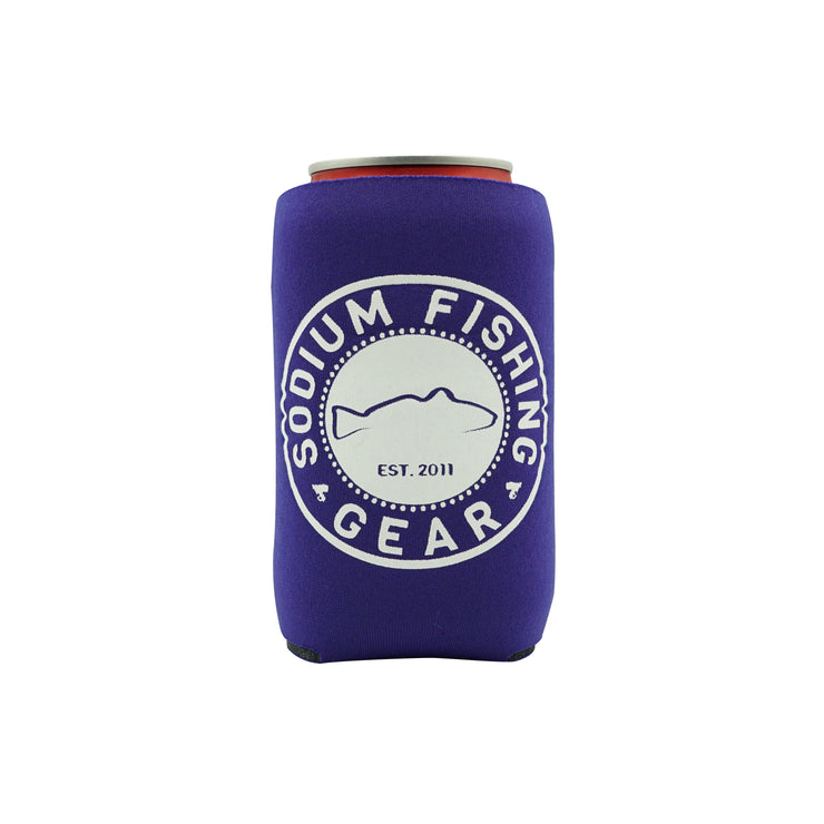Can Coozie Purple