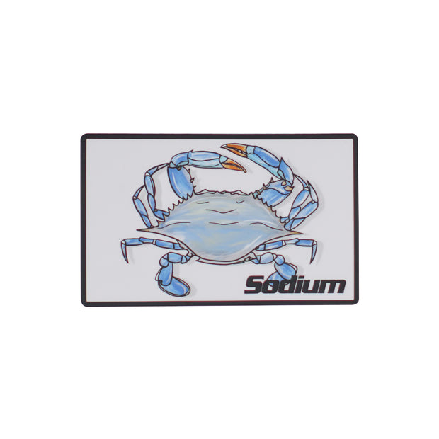 Sodium Blue Crab Sticker