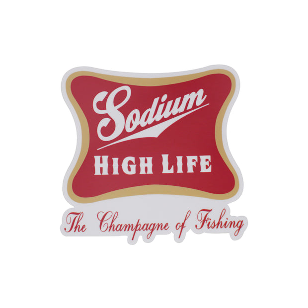 Sodium High Life Sticker