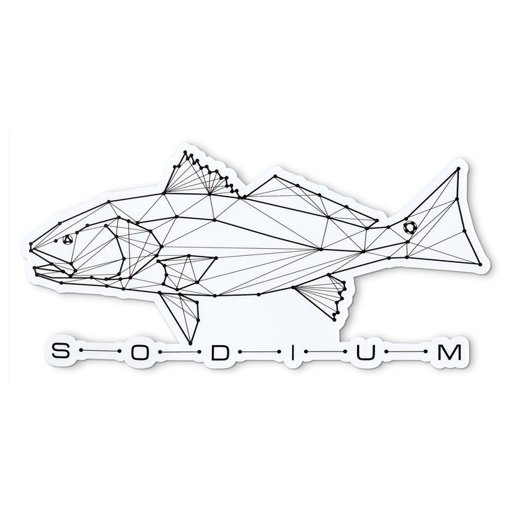 Redfish Constellation Sodium Sticker