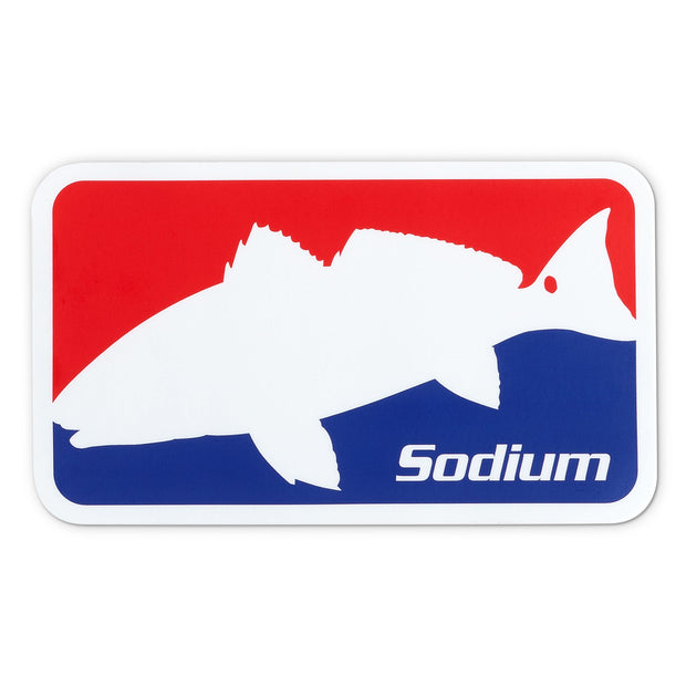 National Redfish Sodium Sticker