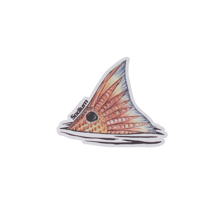 Tailing Redfish Sodium Sticker