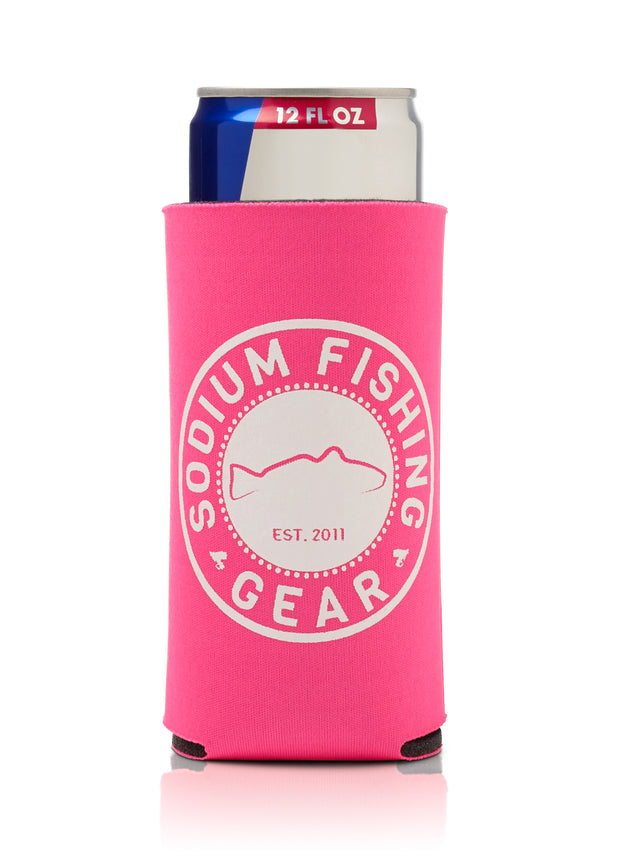 Thin Can Coozie Pink