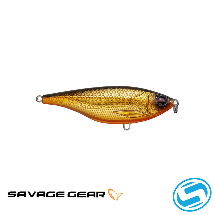 "Savage Gear 3.5"" Twitch Reaper (Gold/Black Back)"