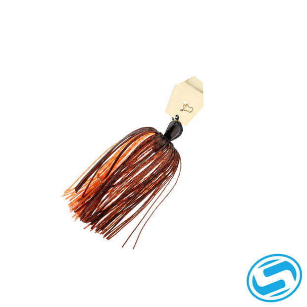 Zman Orange/Brown Chatterbait