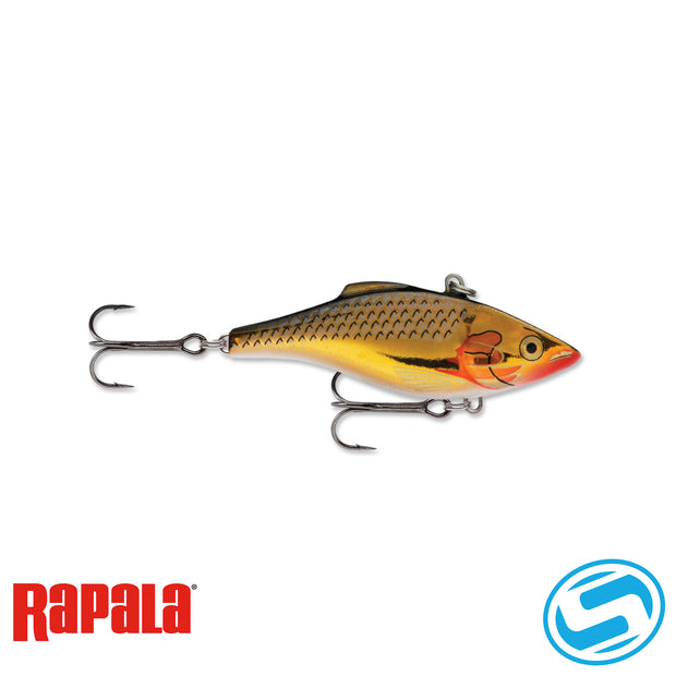 Rapala Rattlin' 3-1/8 (Silver Gold)