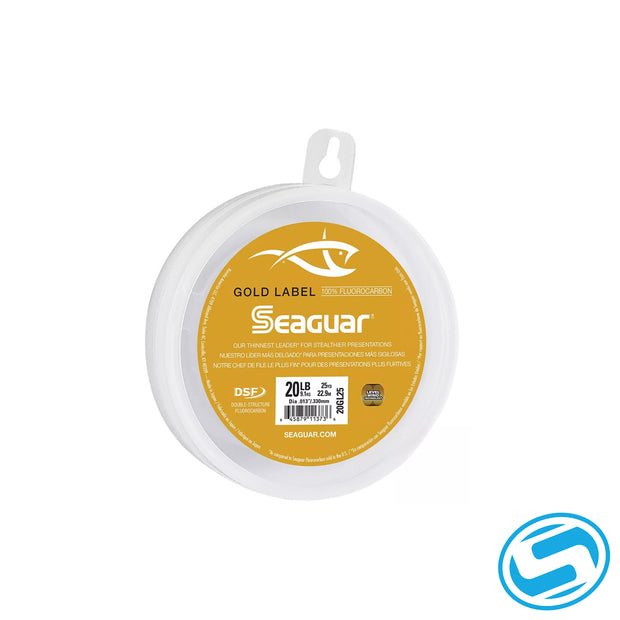 Seaguar Gold Label Fluorocarbon Leaders 25 Yards