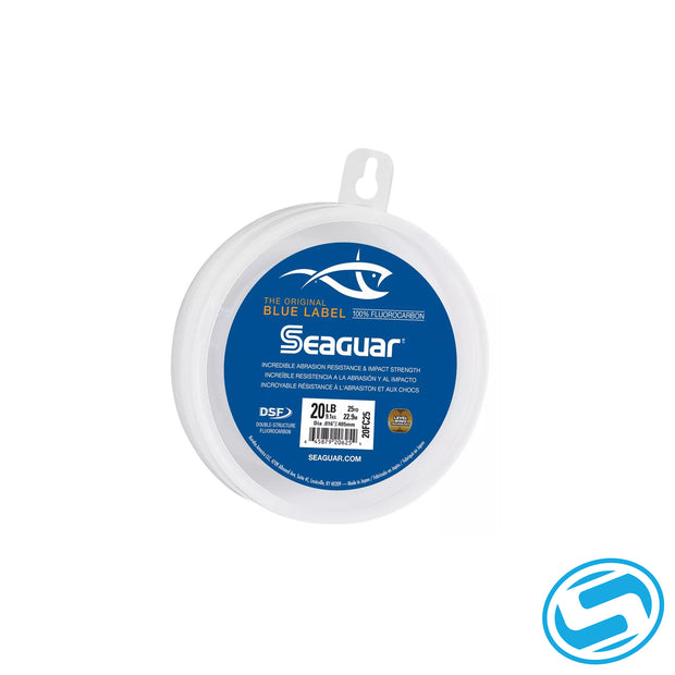 Seaguar Blue Label Fluorocarbon Leaders 25 Yards