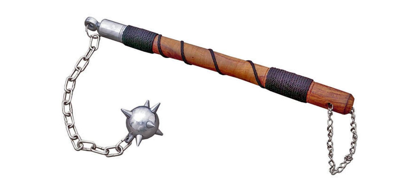 "18"" 1 BALL BATTLE MACE"