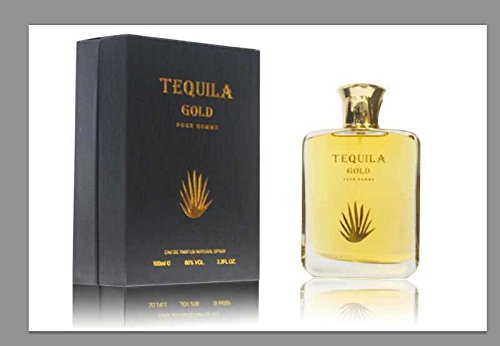 TEQUILA GOLD POUR HOMME Eau De Parfum 3.3 Fl.oz 100ml Spray BRAND NEW IN THE BOX