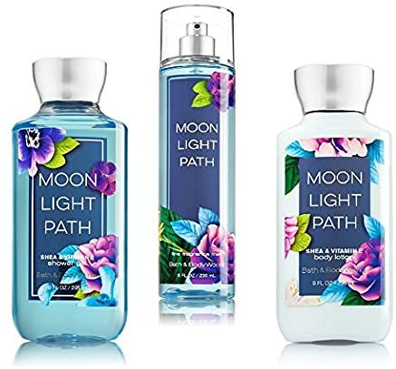 Bath & Body Works Moonlight Path Body Set