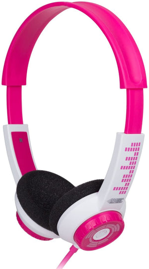 Kids Headphones with Adjustable Volume (Pink)