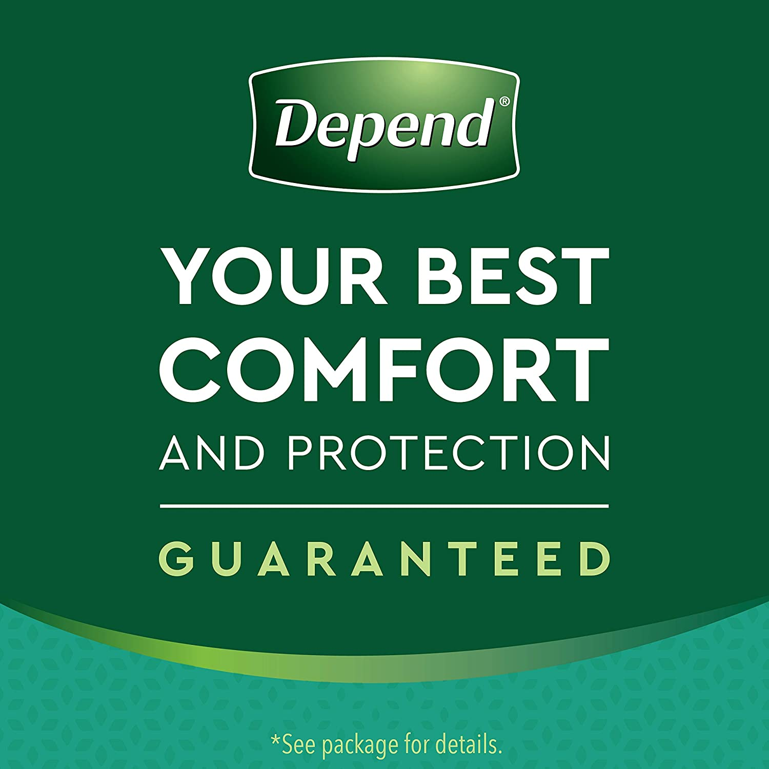 Depend Women's Fit Flex Incontinence Underwear - Tan - M - 56ct