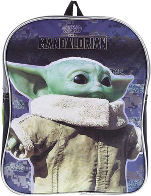 "Star Wars ""The Child"" Baby Yoda 11"" Mini Backpack"