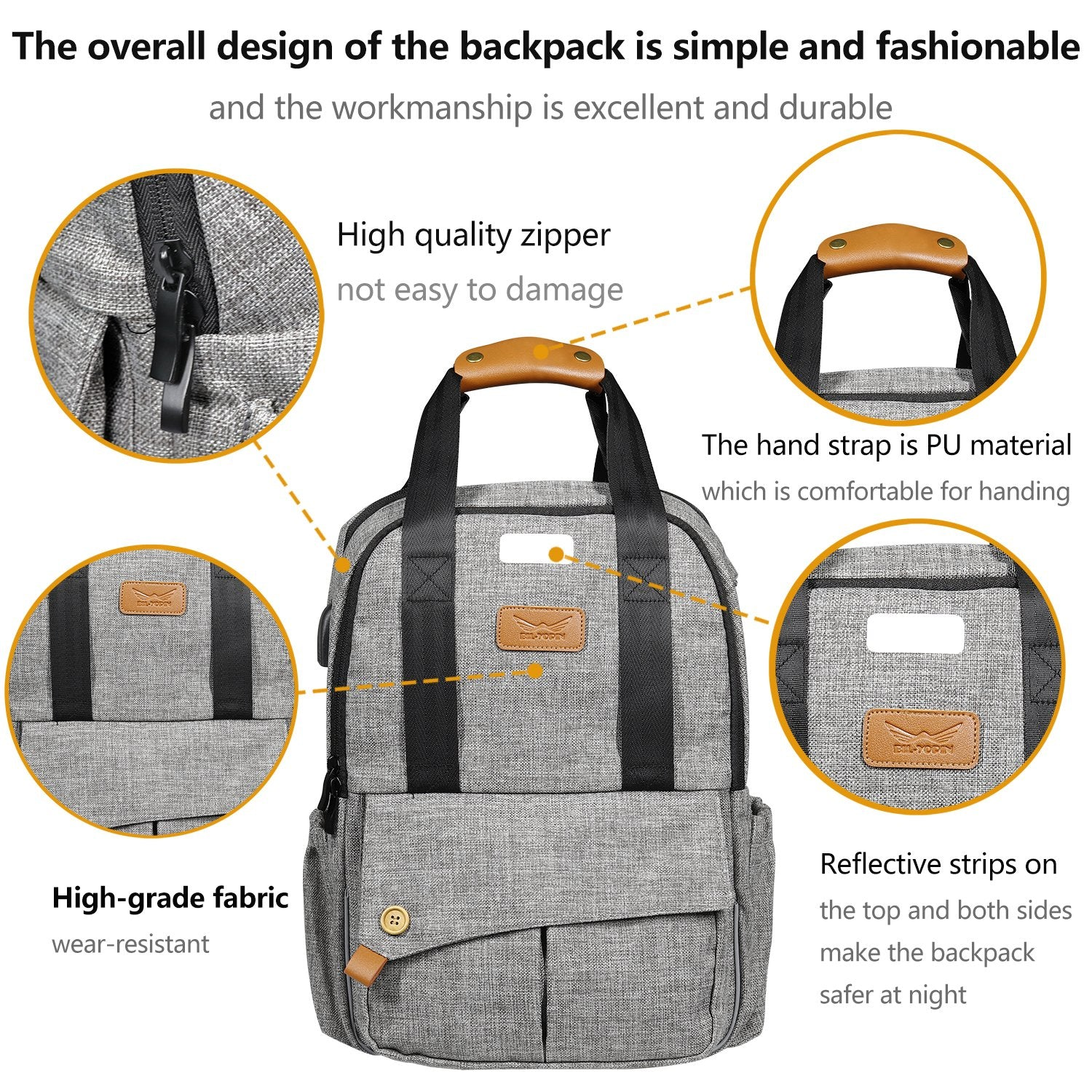 Diaper Bag Backpack Multi-Function Mommy or Daddy Bag
