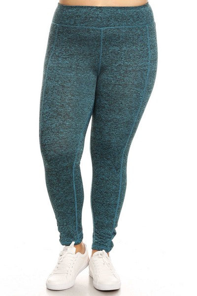 Active leggings w/ bow cutout detailed