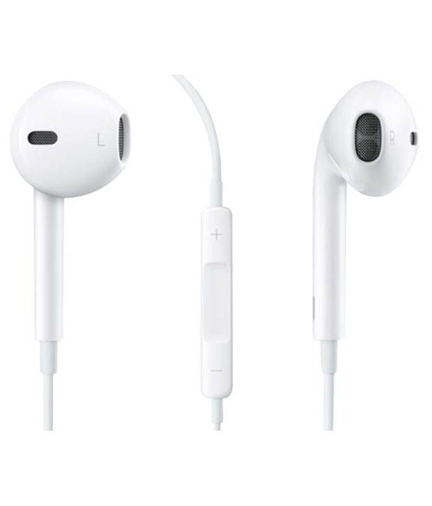 iphone Wired Earphones Stereo Sound in-Ear Earbuds with Microphone