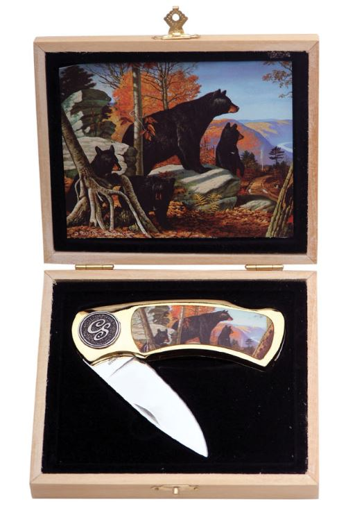 "BLACK BEAR GIFT BOX 4"" Knife"