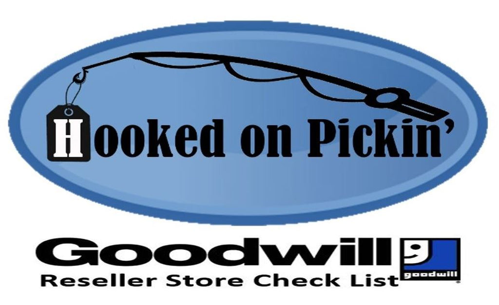 Hooked on Pickin' Reseller Program Goodwill Checklist Cards DIGITAL COPY