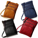 Crossbody Messengers Bag Genuine Leather Purse