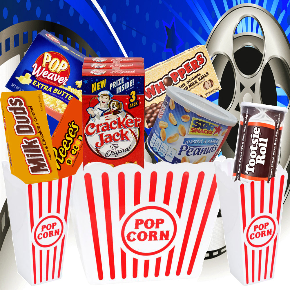 Movie Night Snack Gift Bucket