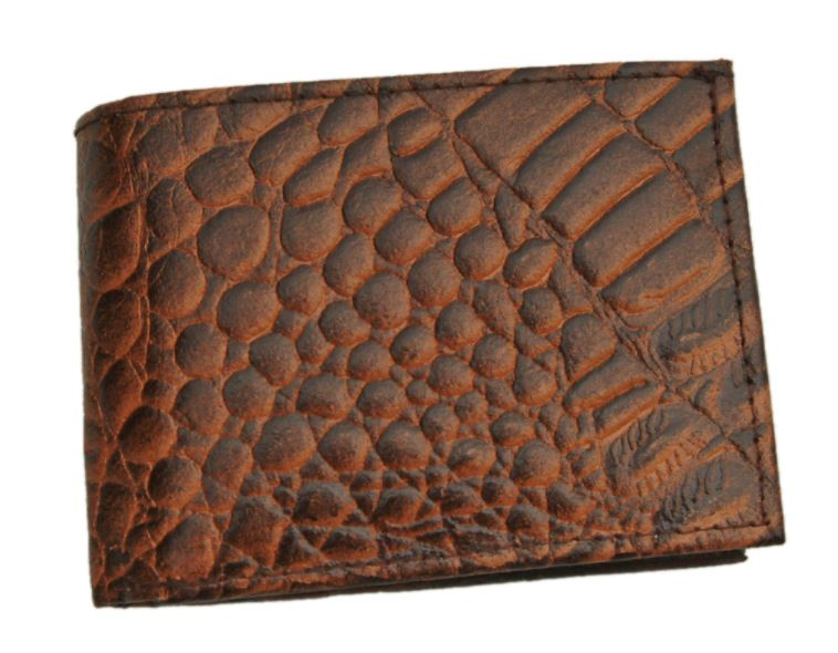 ASSORTED BI FOLD LEATHER WALLETS Crocodile, Lizard, Ostrich
