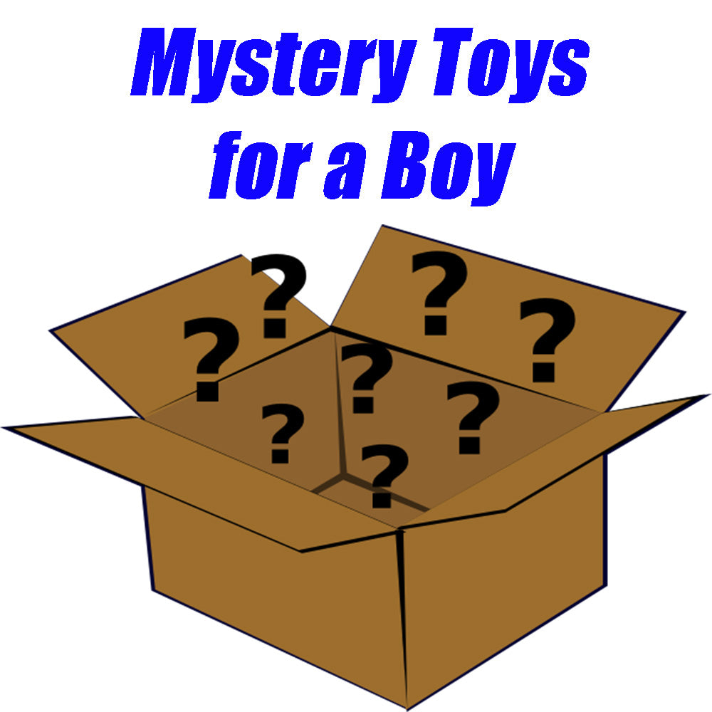 Mystery toy Box for a Boy