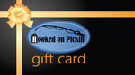 Gift Card to the Hooked on Pickin' Store