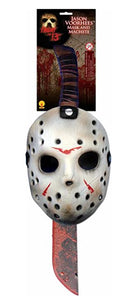 Forum Novelties Friday the 13th Jason Mask and Machete Cosplay