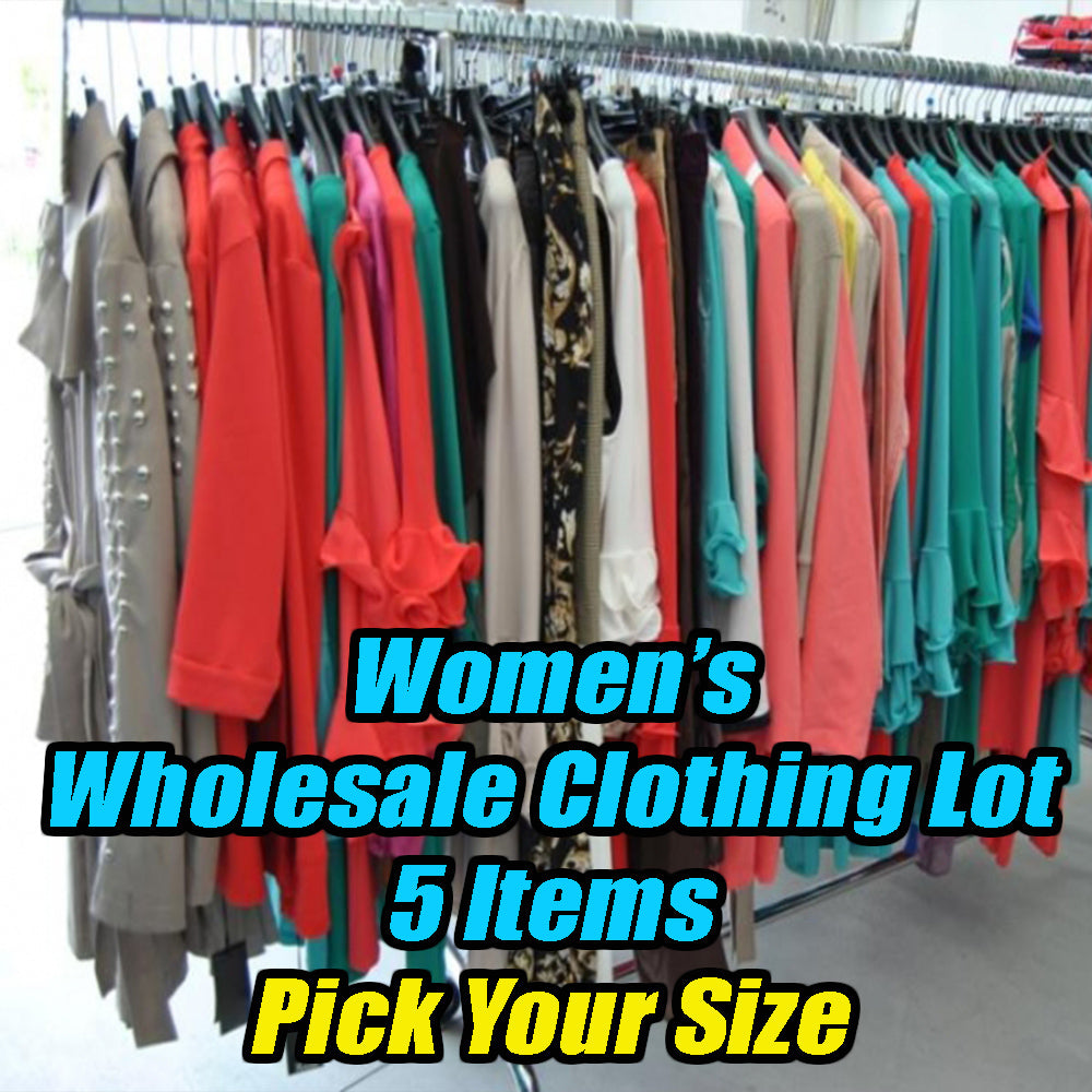 Women's Wholesale Clothing Lot - 5 Items - Pick your size - All Brand New