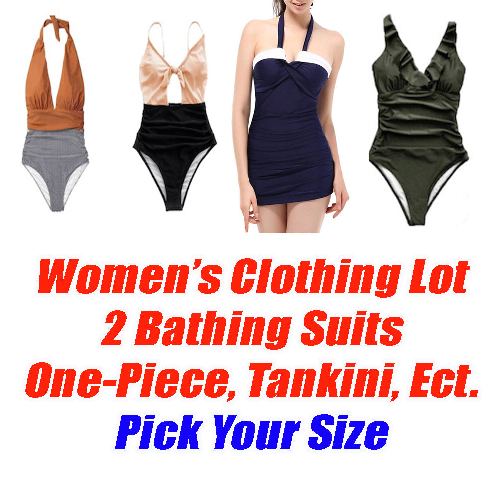 Women's 2 Piece Clothing Lot -2 Bathing Suit - Pick your size - All Brand New