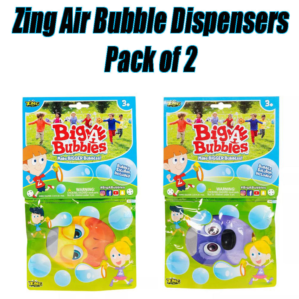 Zing Air Bubble Dispensers Pack of 2