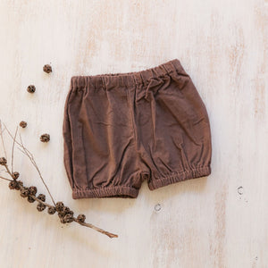 Piper & Me Remy shorts chocolate girls and boys