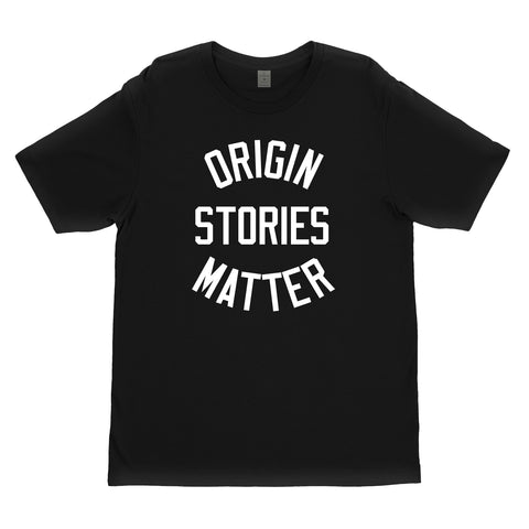 KYT? | ORIGIN STORIES MATTER Shirt - Black