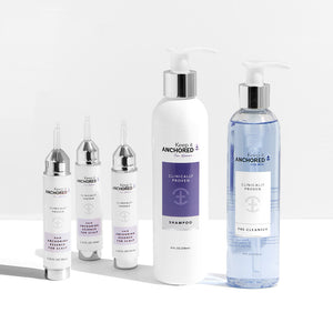 EXTRA CLEAN KIT FOR WOMEN<br>Three HairAnchoring Essences <br>PreCleanser Plus Shampoo <br>