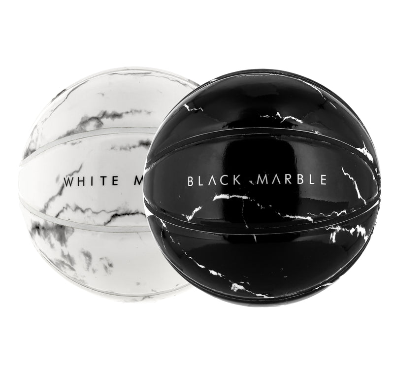 BASKETBALLS PACK SPHERE PARIS BLACK WHITE MARBLE UP