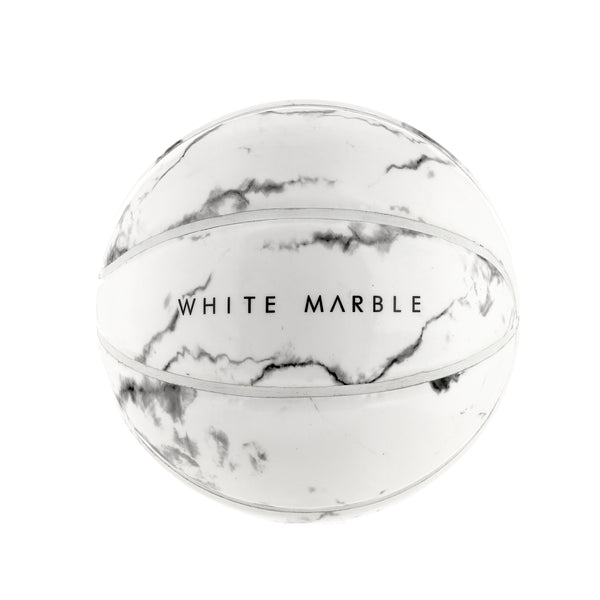 BASKETBALL SPHERE PARIS WHITE MARBLE MAIN