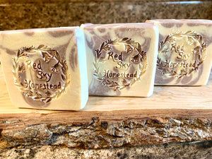 Lavender Goat Milk Soap (Now with Beeswax!)