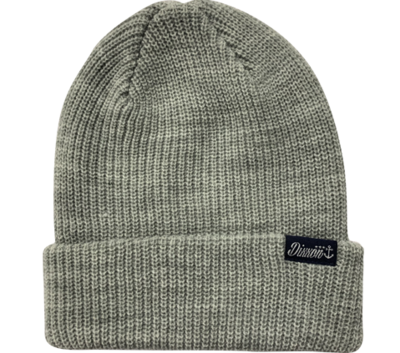 DOCK BEANIE - HEATHER GREY