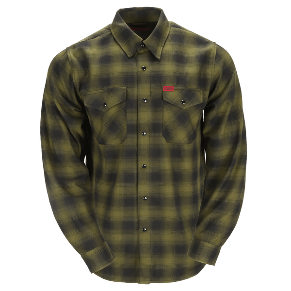 Lone Wolf Flannel