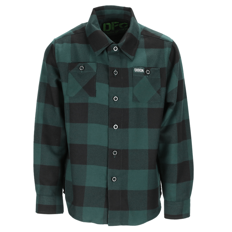Youth Evergreen Flannel