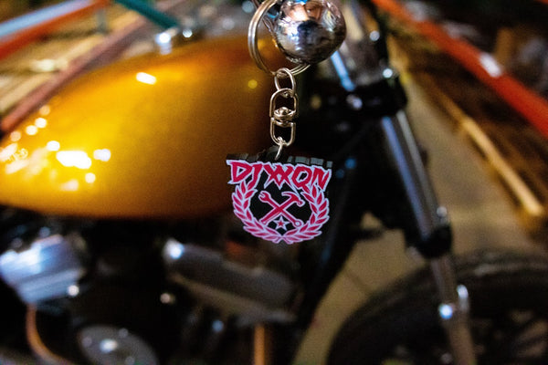 Party Crest Dixxon Keychain