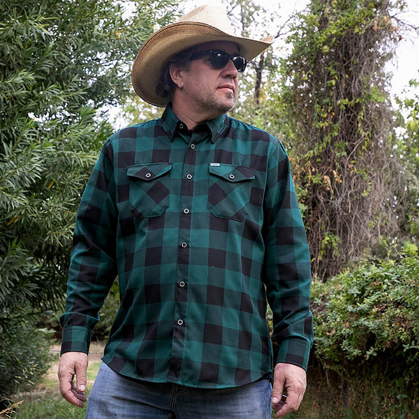 Evergreen Flannel