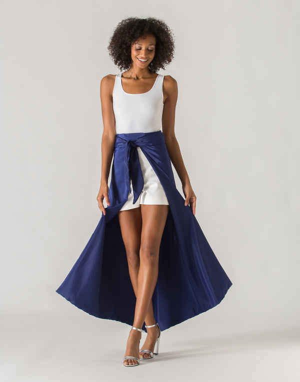 Royal Blue Skirt - NOSOFACLUB