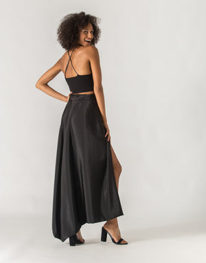 """Everywhere"" Black Skirt - NOSOFACLUB"