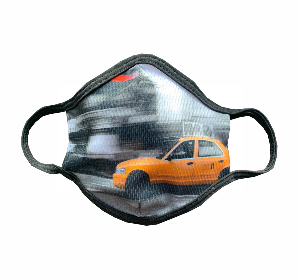 NYC Taxi Cab Face Mask
