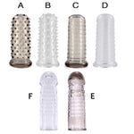 4MB Reusable Silicon Condom With Spike Dotted Dick Sleeve