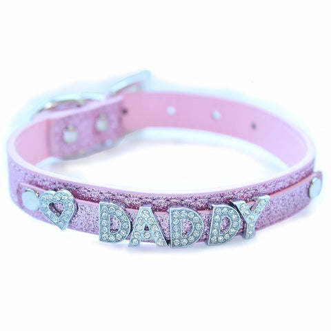 Daddy Dom DDLG/ ABDL Leather Collar