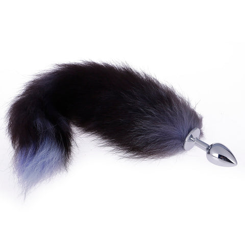 Stainless Steel Faux Fox Tail Plug