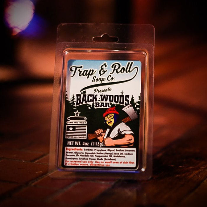 Backwoods Bar from Trap and Roll Soap Company